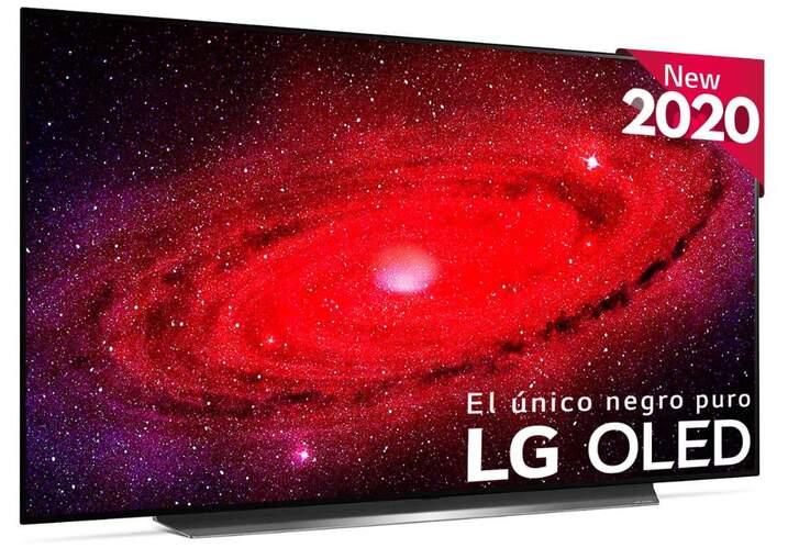 TV LG OLED77CX6LA - UHD 4K, Smart TV ThinQ AI, A9 Gen3, 100% HDR, Dolby Vision IQ Atmos, HGiG