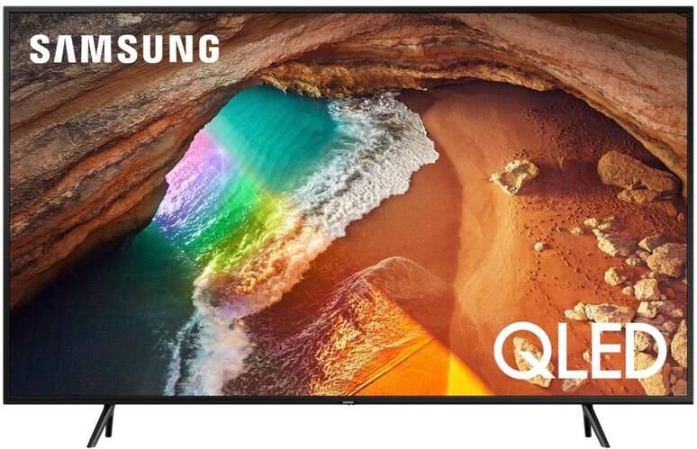 "Televisor QLED Samsung 65"" QE65Q60R - UHD 4K, IA, Smart TV, 3000 PQI, HDR10+, Dolby Digital Plus"