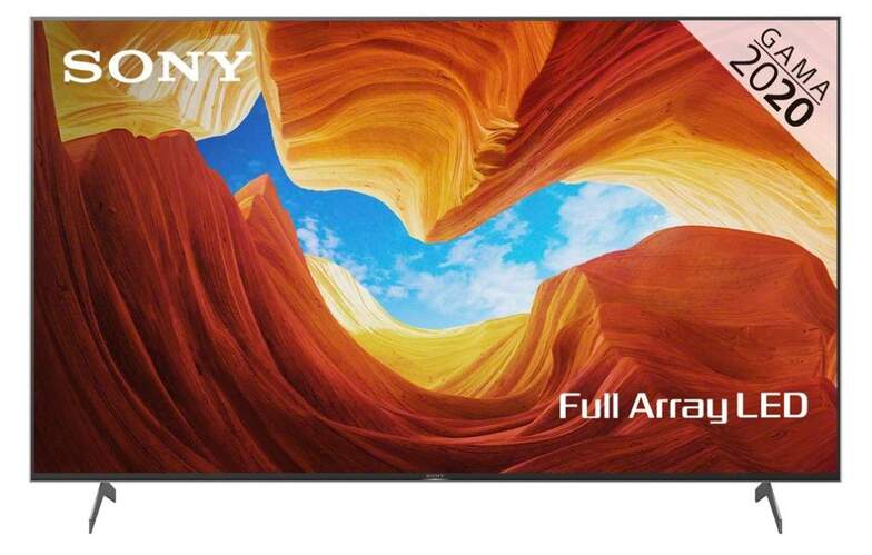 "TV Sony 65"" KD65XH9096 - UHD 4K, Smart TV Android, Full Array, X1 Proc., X-Reality PRO, Dolby Atmos"