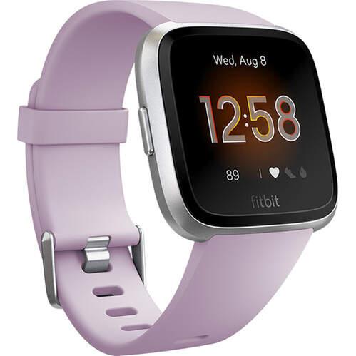 Smartwatch Fitbit Versa Lite Lila Silver