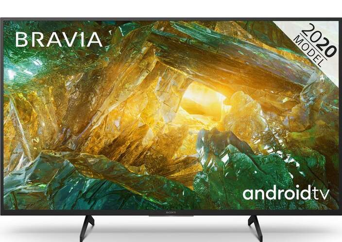 "TV Sony 43"" 43XH8096 - UHD 4K, Smart Android TV, HDR Processor X1, Dolby Vision/Atmos, MotionFlow XR"