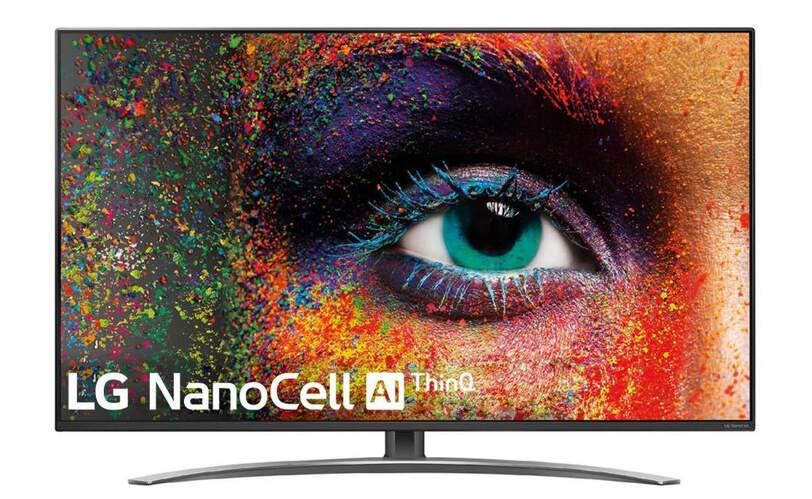 "TV LG 55"" 55SM9010PLA - NanoCell 4K UHD, Full Array, Smart TV IA, Alpha 7, Dolby Atmos/Vision"