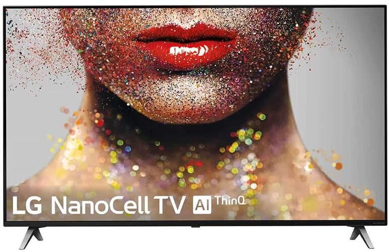 "TV 4K LG 65"" 65SM8500PLA - NanoCell, Alpha 7, 100% HDR, Smart TV AI ThinQ, Dolby Atmos/Vision"