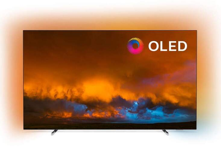 """TV Philips 55"""" 55OLED804/12 - UHD 4K, Android TV, P5 Pro, Ambilight, Dolby Vision/Atmos, HDR10+ HLG"""