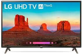 "Televisor LG 75"" 75UK6200PLB - UHD 4K, Smart TV ThinQ AI TV, HLG - HDR10 Pro, Ultra Surround"