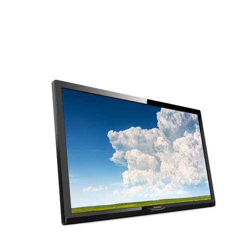 "Televisor Philips 24"" 24PHS4304/12 - HD, Pixel Plus HD, Grab. USB, Satélite, PC VGA, DVB-T2/C/S2"