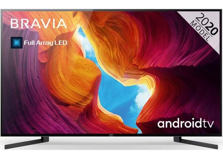 "TV Sony 85"" KD85XH9505 - UHD 4K, Smart TV Android, Full Array LD, X1 Ultimate, Dolby Vision/Atmos"