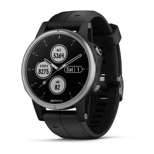 Reloj deportivo Garmin Fenix 5S Plus Silver/N