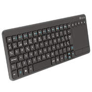 TECLADO+RATON NGS TV WARRIOR 2.4 TOUCH