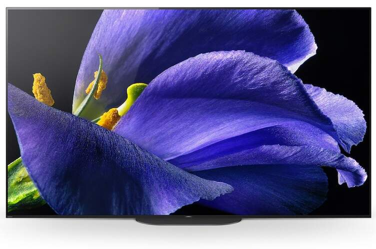 "TV OLED Sony 55"" KD55AG9 - 4K X-Reality PRO, HDR Processor X1 Ultimate, Android TV, Dolby Vision"