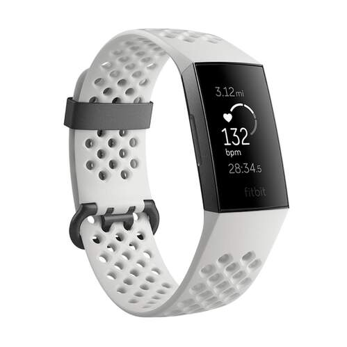 Pulsera Fitbit Charge 3 Special Edition Blanca