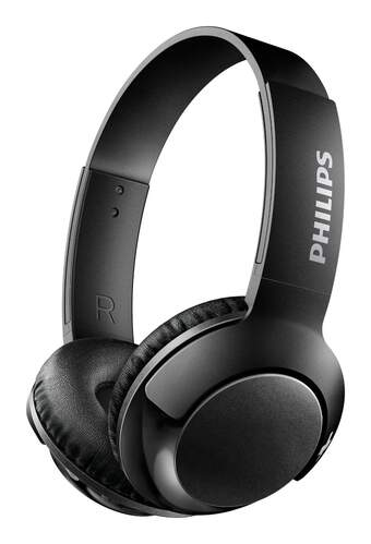 Auriculares Philips Bass+ SHB3075BK/00 Negro
