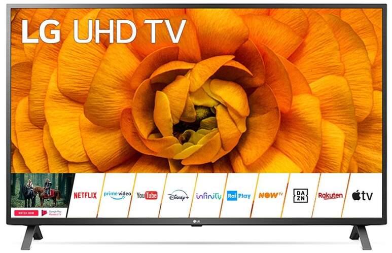 """TV LG 82"""" 82UN85006LA - UHD 4K, Smart TV IA, A7 Gen3, 100% HDR, Dolby Vision/Atmos, HGiG"""