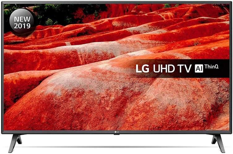 "TV LG 55"" 55UM7510PLA - UHD 4K, Smart TV IA ThinQ, 4K Active HDR, DTS Virtual X"