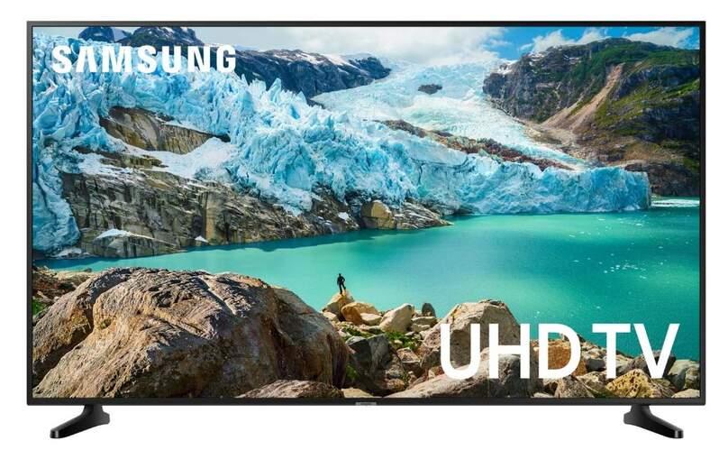 "TV Samsung 55"" UE55RU7025 - 4K UHD, Smart TV, PurColor, Ultra Dimming, HDR10+, HLG, UHD Processor"