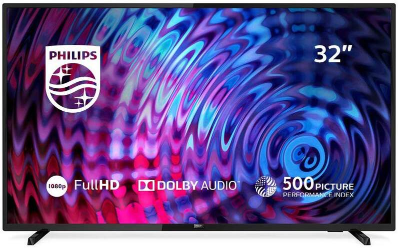 "TV Philips 32"" 32PFS5803/12 - Full HD, Smart TV Saphi, Pixel Plus HD, WiFi, USB Multimedia"