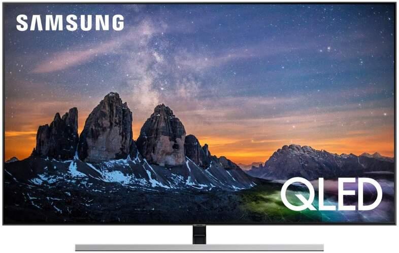 "Televisor QLED Samsung 65"" QE65Q80R - UHD 4K, IA, Smart TV Bixby, HDR10+, 3700PQI, Direct Full Array"
