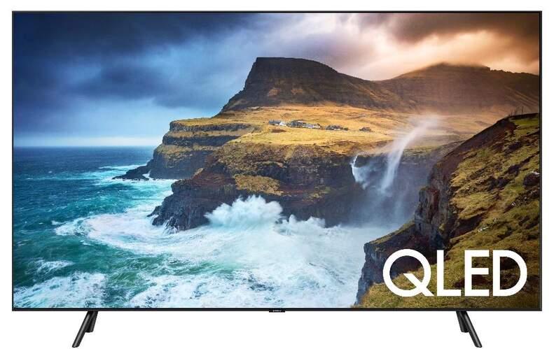 "Televisor QLED Samsung 55"" QE55Q70R - UHD 4K, IA, Smart TV Bixby, HDR10+, 3300PQI, Direct Full Array"
