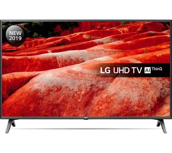 "TV LG 43"" 43UM7500PLA - 4K UHD, Smart TV IA ThinQ, HDR10,  HLG, DTS Virtual: X Full 360º"