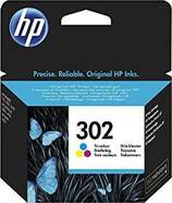 Tinta de colores HP 302 F6U65AE
