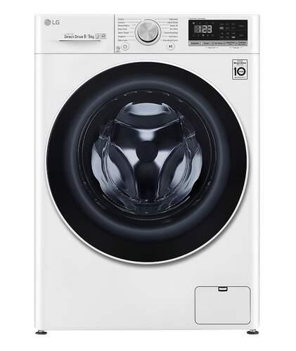 Lavadora Secadora LG F4DN408N0