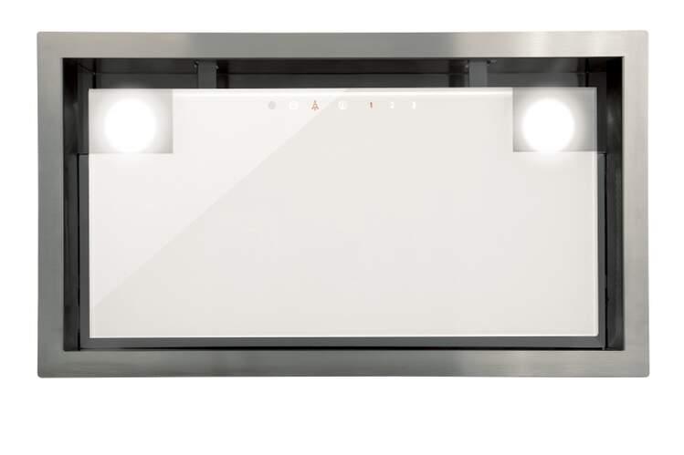 Grupo filtrante Cata GC Dual A WH 45 - Clase A, 50cm, 820 m3/h, 5 Potencias, LED, Blanco