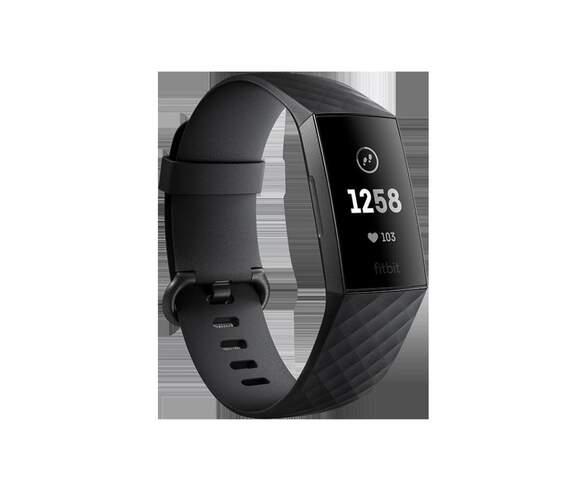 Pulsera Fitbit Charge 3 Negra