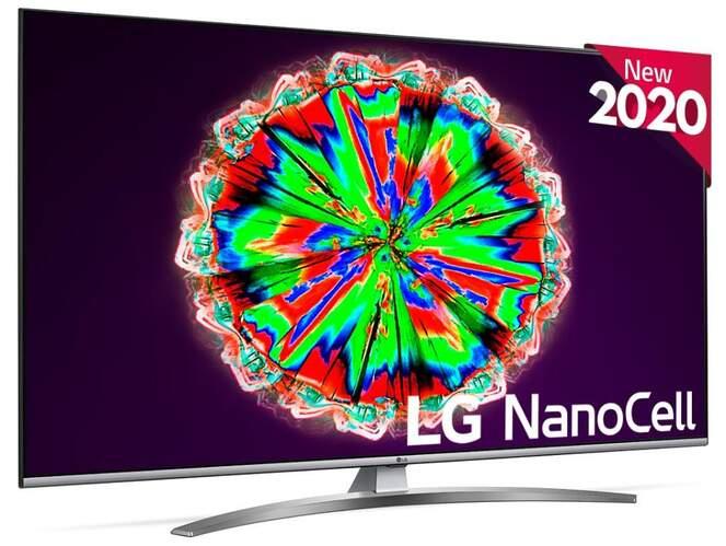 "TV LG 65"" 65NANO816NA - NanoCell UHD 4K, Smart TV ThinQ IA, HDR10 Pro, Local Dimming, QuadCore 4K"