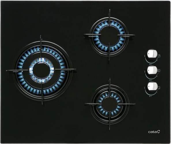 Placa gas Butano Cata CIB 6021 BK