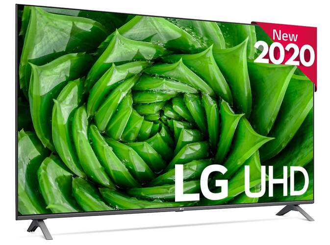 "TV LG 55"" 55UN80006LA - UHD 4K, HDR10 Pro, Smart TV ThinQ AI, QuadCore 4K, Ultra Surround, HGiG"