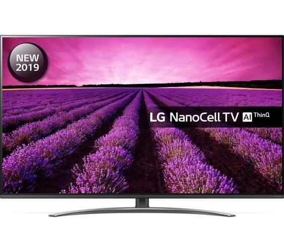 "TV 4K LG 49"" 49SM8200PLA - NanoCell, HDR10 Pro, HLG, Smart TV AI ThinQ, DTS Virtual: X Full 360º"