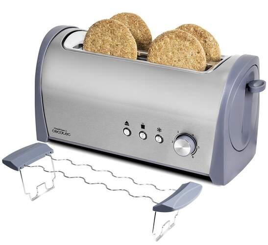 Tostador Cecotec Steel&toast 2L