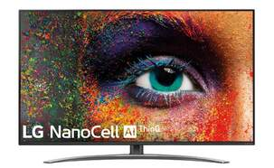 "TV LG 55"" 55SM9010PLA - NanoCell 4K UHD, Full Array, Smart TV IA, Alpha 7, Dolby Atmos/Vision"