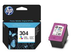 Tinta de colores HP 304 N9K05AE
