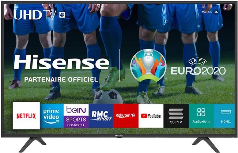 "TV 4K Hisense 50"" 50B7100 - UHD, Smart TV Vidaa U 3.0, HDR10, HLG, DTS Studio Sound, Clean View"