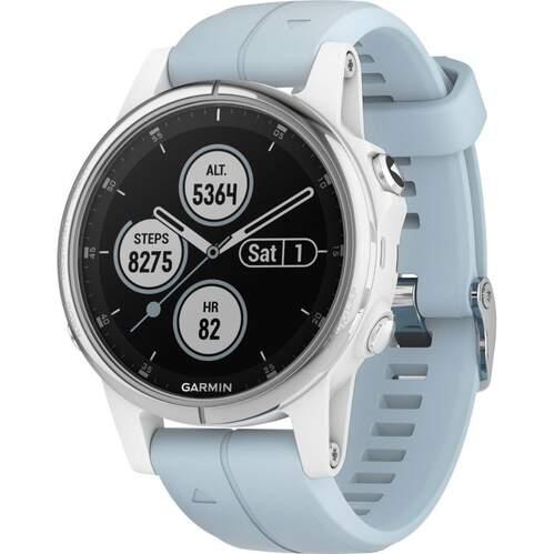 Reloj deportivo Garmin Fenix 5S Plus Blanco