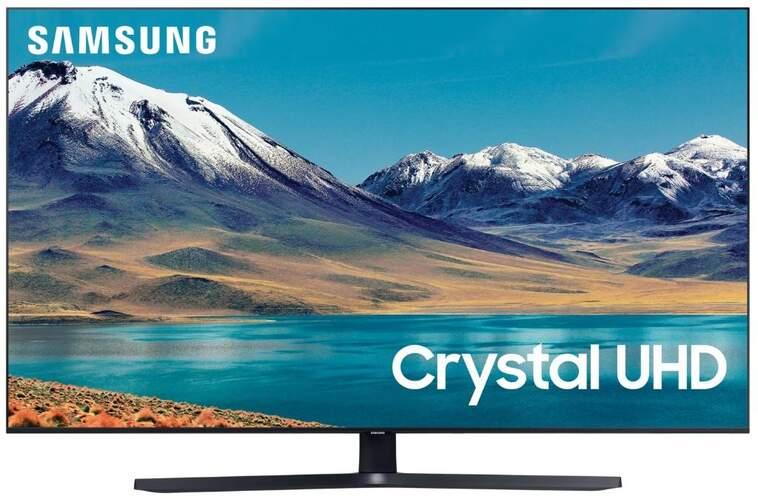 "TV Samsung 65"" UE65TU8505 - Crystal UHD 4K, Smart TV, Dual LED, 4k Processor, 2800PQI, HDR10+"
