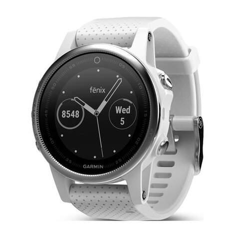 Reloj deportivo Garmin Fenix 5S Blanco