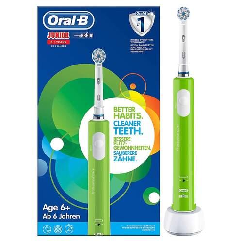 Cepillo dental ORAL-B D16 Junior verde