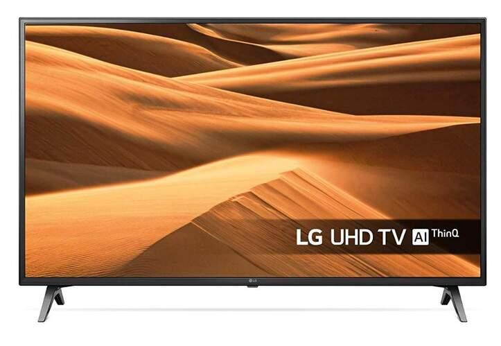 "TV LG 75"" 75UM7000PLA - 4K UHD, 4K Active HDR, TruMotion, Smart TV, 1600 HZ PQI, DTS HD"
