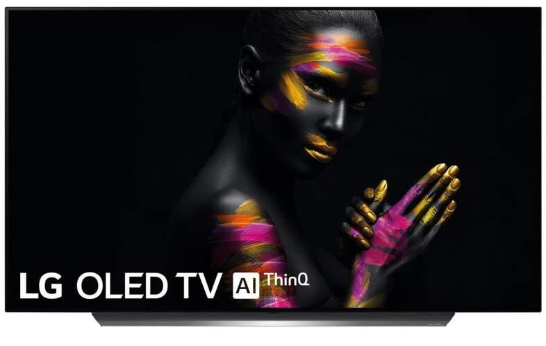 "TV OLED LG 77"" 77C9PLA - UHD 4K, Alpha 9 14 Bits, Smart TV AI ThinQ, 100% HDR, Dolby Atmos/Vision"