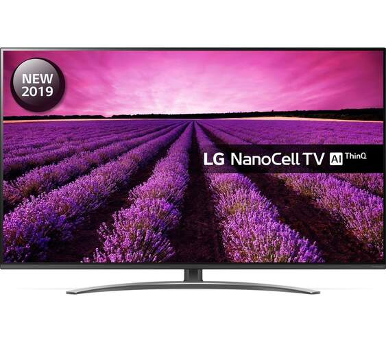 "TV 4K LG 65"" 65SM8200PLA - NanoCell, HDR10 Pro, HLG, Smart TV AI ThinQ, DTS Virtual: X Full 360º"
