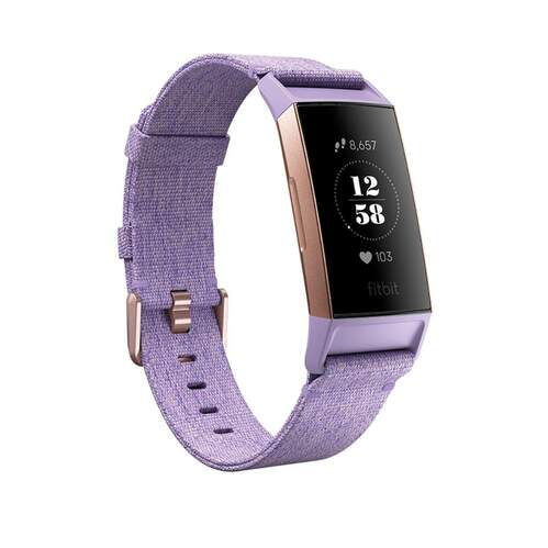 Pulsera Fitbit Charge 3 Special Edition Lavanda