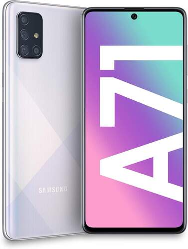 Samsung Galaxy A71 Plata
