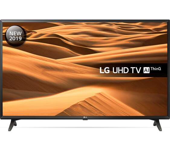 "TV LG 55"" 55UM7000PLA - 4K UHD, 4K Active HDR, TruMotion, Smart TV, 1600 HZ PQI, DTS HD"