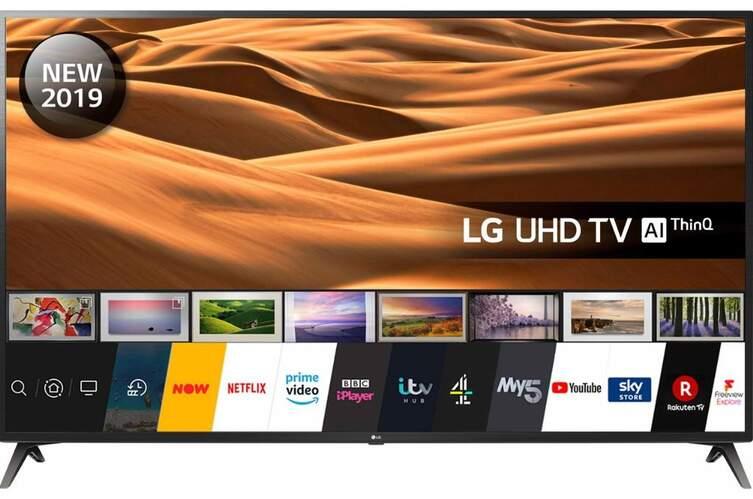 "TV LG 43"" 43UM7100PLB - UHD 4K, Smart TV IA ThinQ, HDR10 Pro, HLG, Ultra Surround"