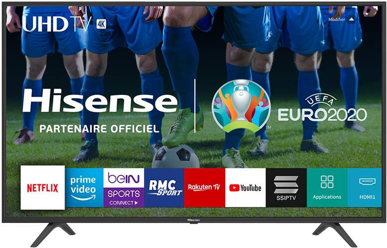 "TV 4K Hisense 55"" 55B7100 - UHD, Smart TV Vidaa U 3.0, HDR10, HLG, DTS Studio Sound, Clean View"