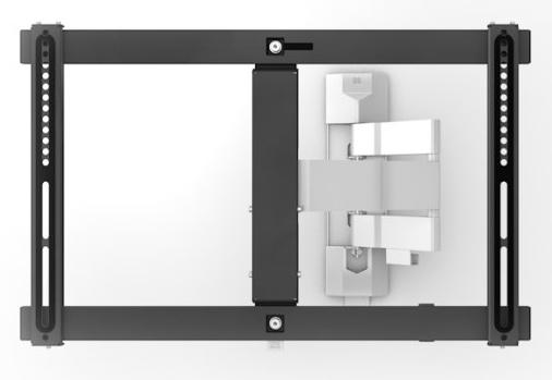 "Soporte One for All SV6650 - 2 Brazos, Apto TVS 32"" a 70"", Soporta 30 Kg, Diseño Slim"