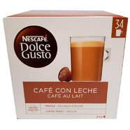 ESTUCHE DOLCE GUSTO CAFE AU LAIT 30+4 CAP