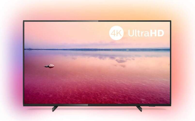 "TV 4K Philips 65"" 65PUS6704/12 - UHD, Smart TV Saphi, Ambilight, HDR10+, Dolby Vision/Atmos"